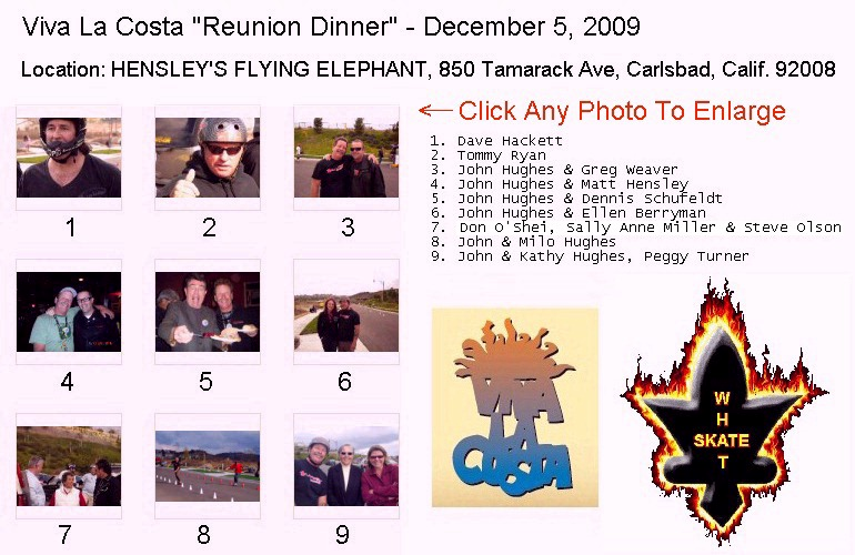 Image Map of LaCosta Reunion Photos