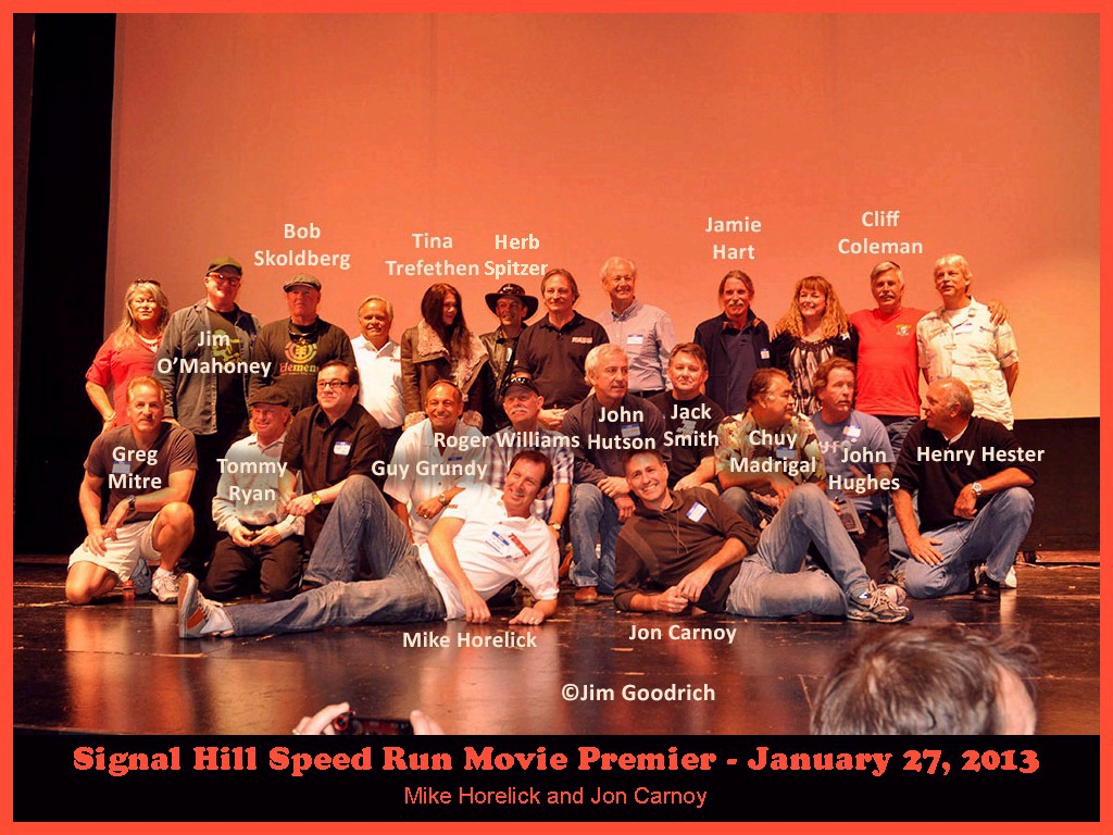 Signal Hill Skateboarding Downhill Championships - Movie Premier